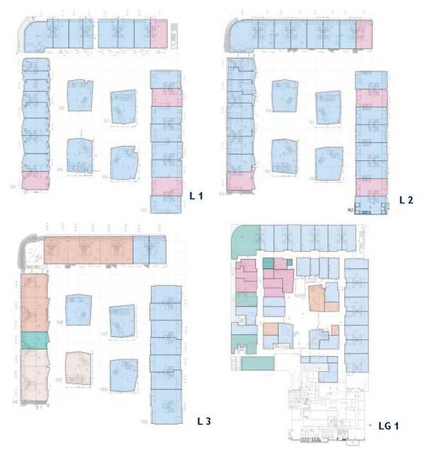 三里屯 平面图_www.d-long.cn - 信息中心 - 城市商业综合体成功案例分析